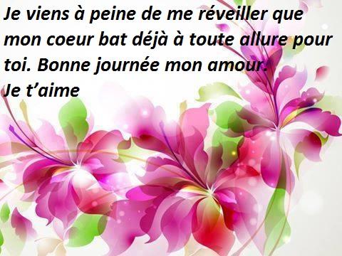 Bonne Journée Mon Amour In English