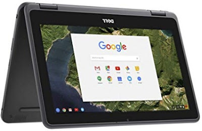 """Newest Dell 3189 Convertible Chromebook 11.6"""" HD IPS Touchscreen, Laprtop with  Corning Gorilla Glass NBT"""
