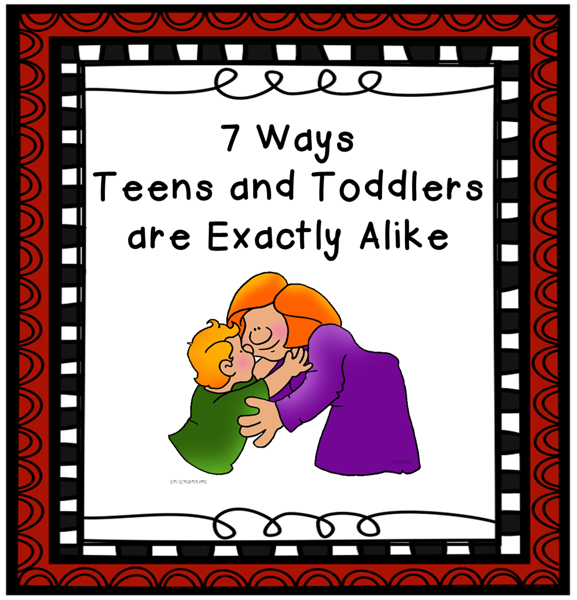 7 Ways Teens and Toddlers are Exactly Alike