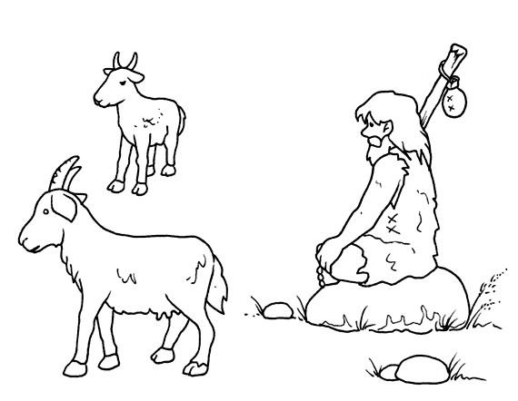 Dibujos De Prehistoria Para Ninos Para Colorear: LA PREHISTORIA FICHAS PARA PINTAR