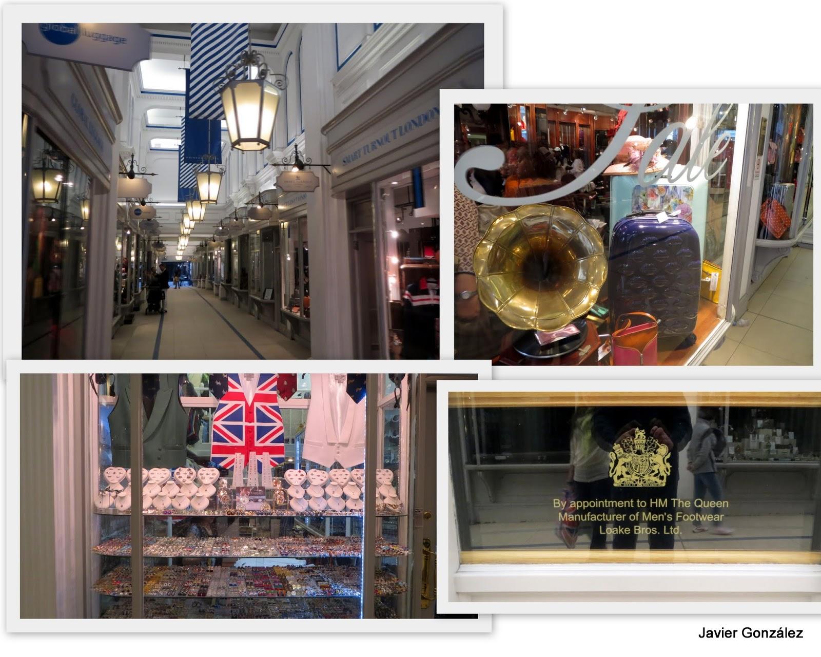 Londres. GALERIA PRINCESS ARCADE