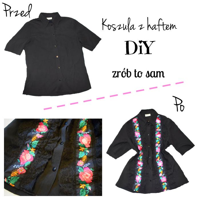 DIY - Jak przerobić i ozdobić koszulę? Recykling ubrań.