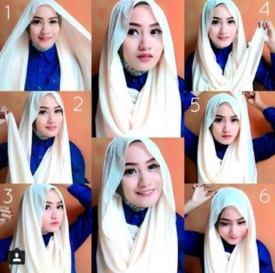 model jilbab rawis modern terbaru