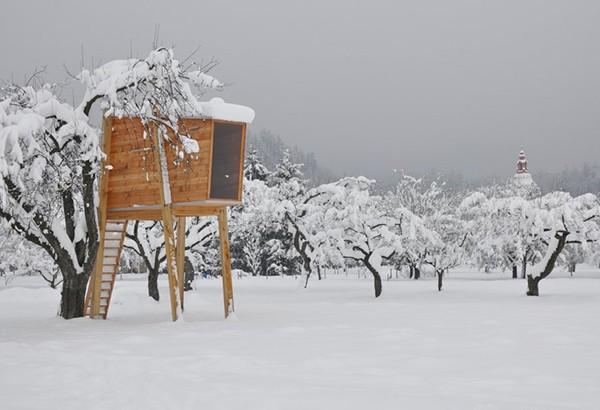 Tree House, Slovenia, Bizarre Homes