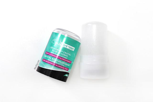 Le déodorant Cristal de la marque EpiDerme
