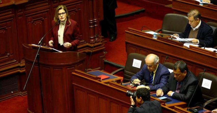 Discurso de la presidenta del Consejo de Ministros ante el Congreso de la República por voto de confianza [TEXTO COMPLETO - PDF]