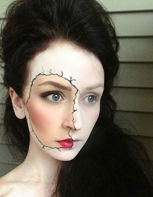 Cute Halloween Makeup Easy.10 Last Minute Easy Halloween Makeup Ideas Scary But Easy