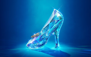 cinderella-3d glass shoe