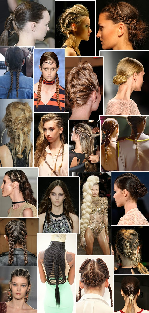 Braids are the bet for the summer. See the trends that have emerged at NYFW
