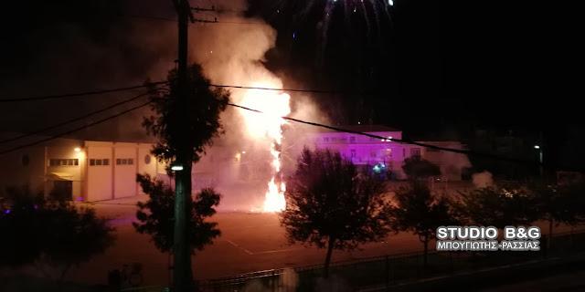 Αργολίδα: Παρέδωσαν στις φλόγες τον Βαραββά στη Νέα Κίο