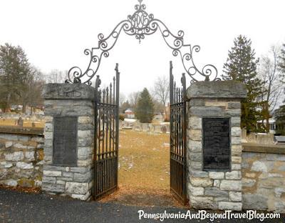 Historic Paxton Church Cemetery in Harrisburg Pennsylvania