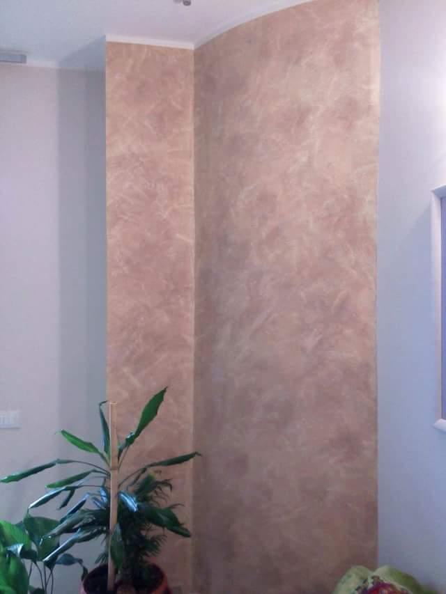 Imbianchino Latina Decorazioni: Decorazione parete sala