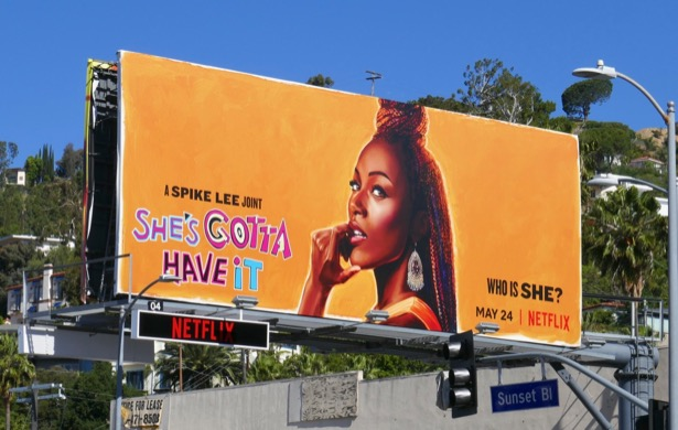 Shes Gotta Have It season 2 billboard