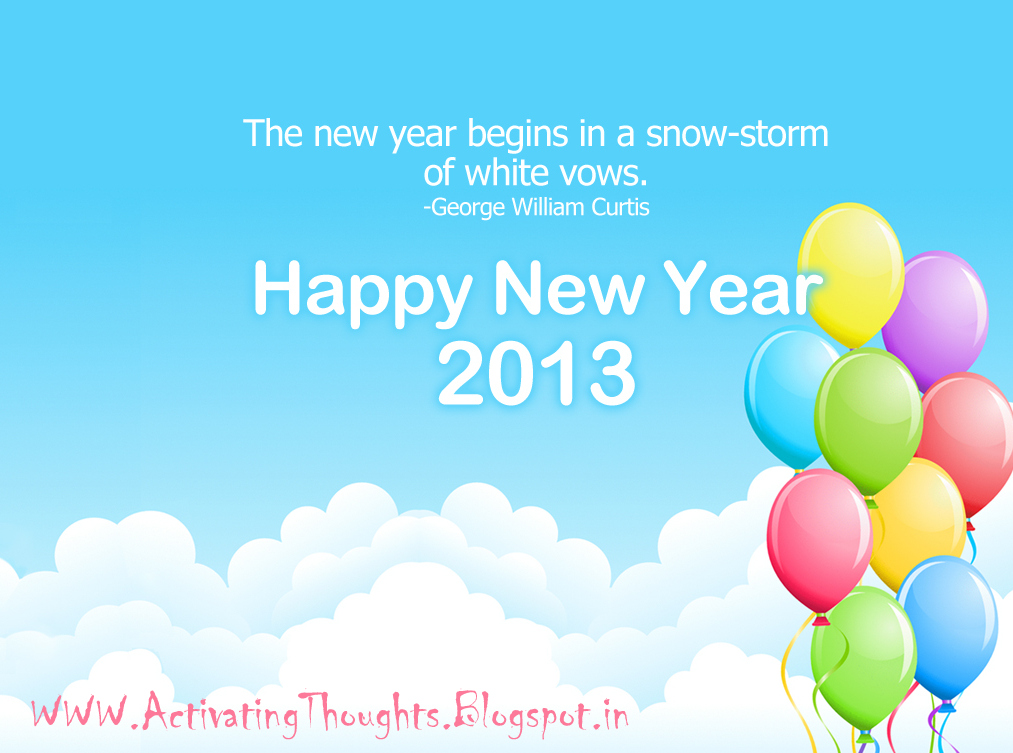 activating thoughts happy year