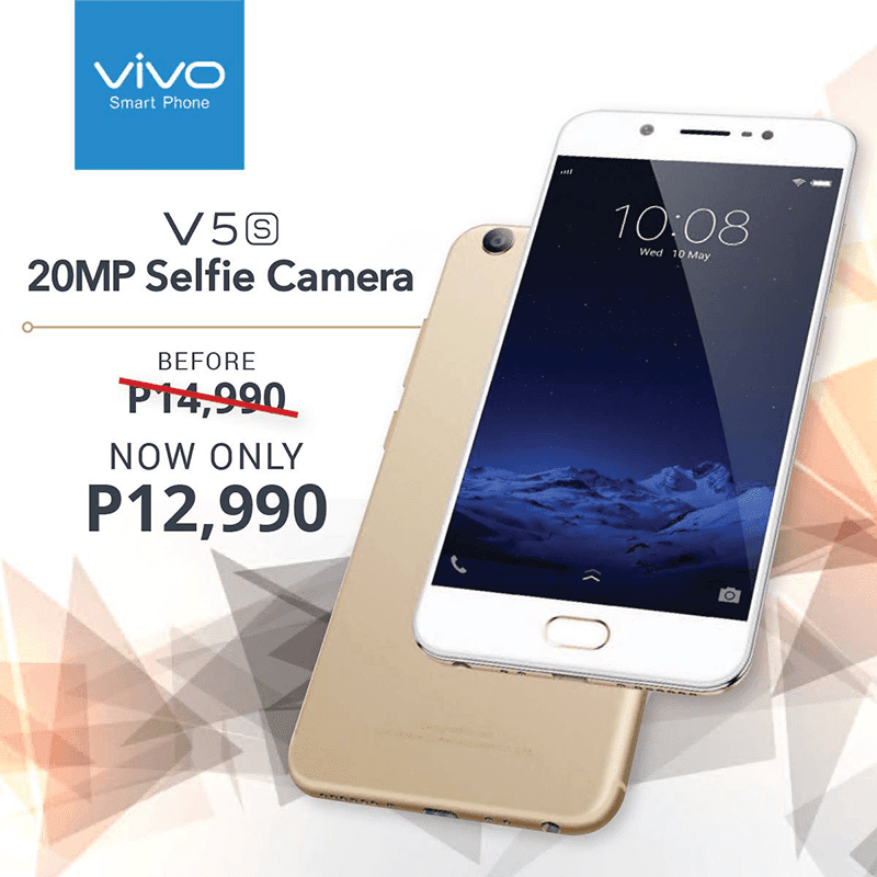 Sale Alert: Vivo V5s Is Down To PHP 12990