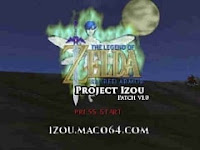 The Legend of Zelda - Project Izou (HACK) INGLÊS