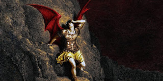In writing Paradise Lost, Milton was of the Devil'sparty without knowing it.