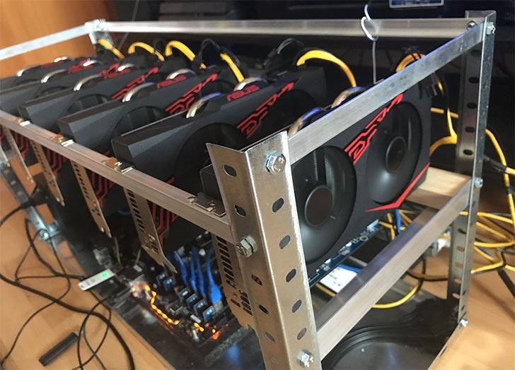 Asus Mining P106 kripto para madenciliği