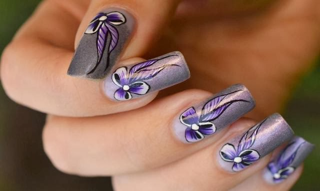 Whats New In Nail Art Designs For Girls 2013 Beauty High Fashion