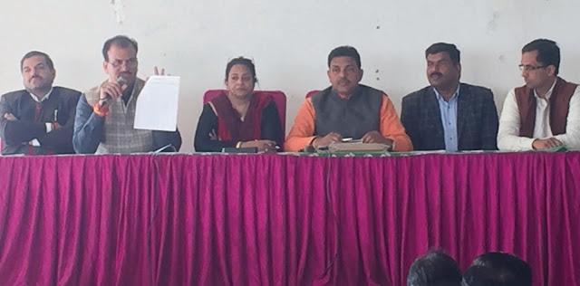 Organizational Meeting concludes with Bharatiya Janata Party's Milan Bhatika