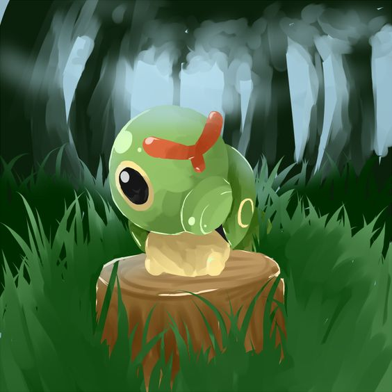 cutest pokemon Caterpie 1