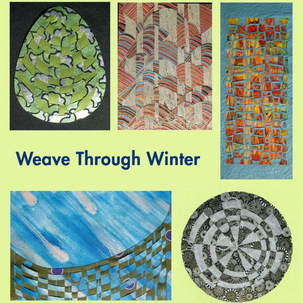 5 colorful paper weaving examples