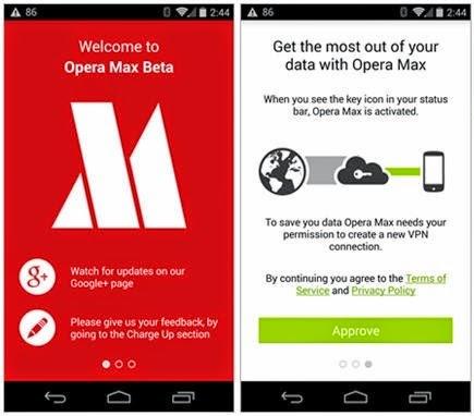 Opera max miễn phí