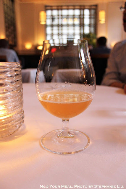 Brooklyn Brewery, Sorachi Ace Saison, Brooklyn, New York at Eleven Madison Park in New York City