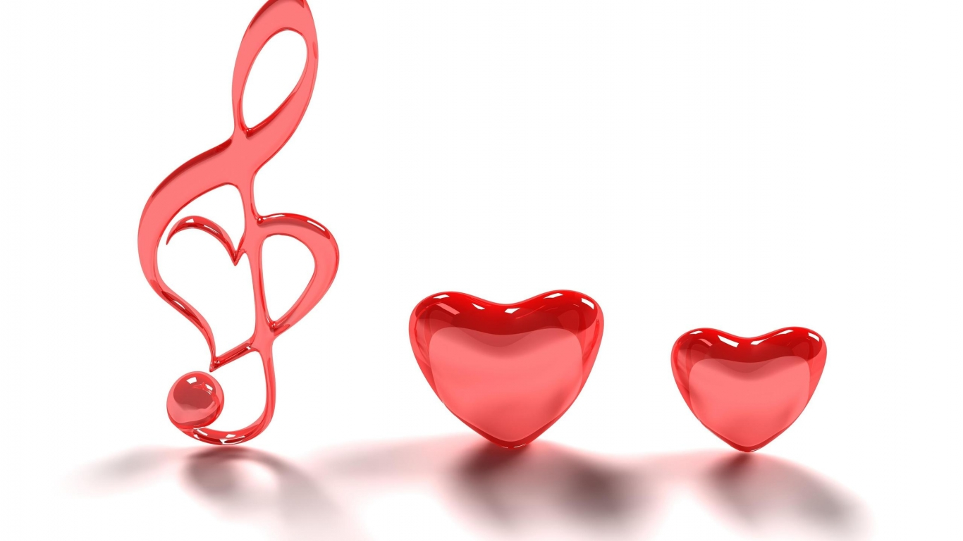 Wallpaper Backgrounds: Cute Heart And Love Wallpapers With
