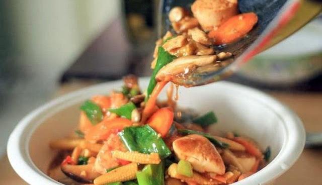 Resep Cara Memasak Sapo Tahu Ayam Jamur Sayuran