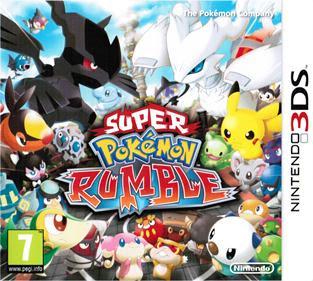 Pokemon Rumble Blast 3DS, español, mega