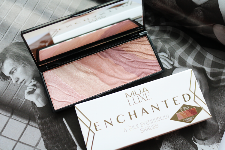 MUA Luxe Enchanted Eyeshadow Palette - Review & Swatches