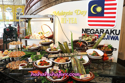 MALAYSIA DAY HI-TEA @ ROYALE SONGKET RESTAURANT GRAND BLUEWAVE HOTEL SHAH ALAM