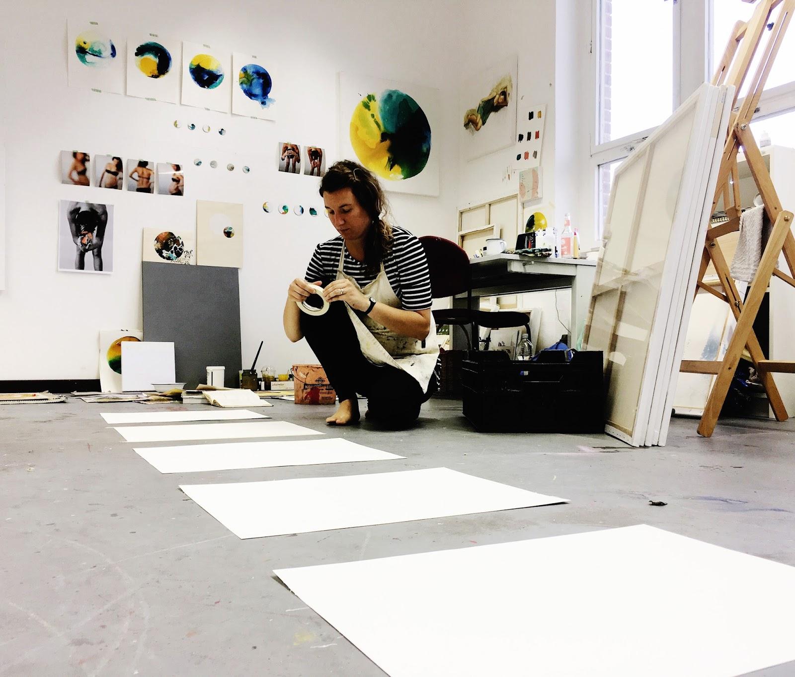 Artist Residency, Artist Studio, artist talk, berlin,