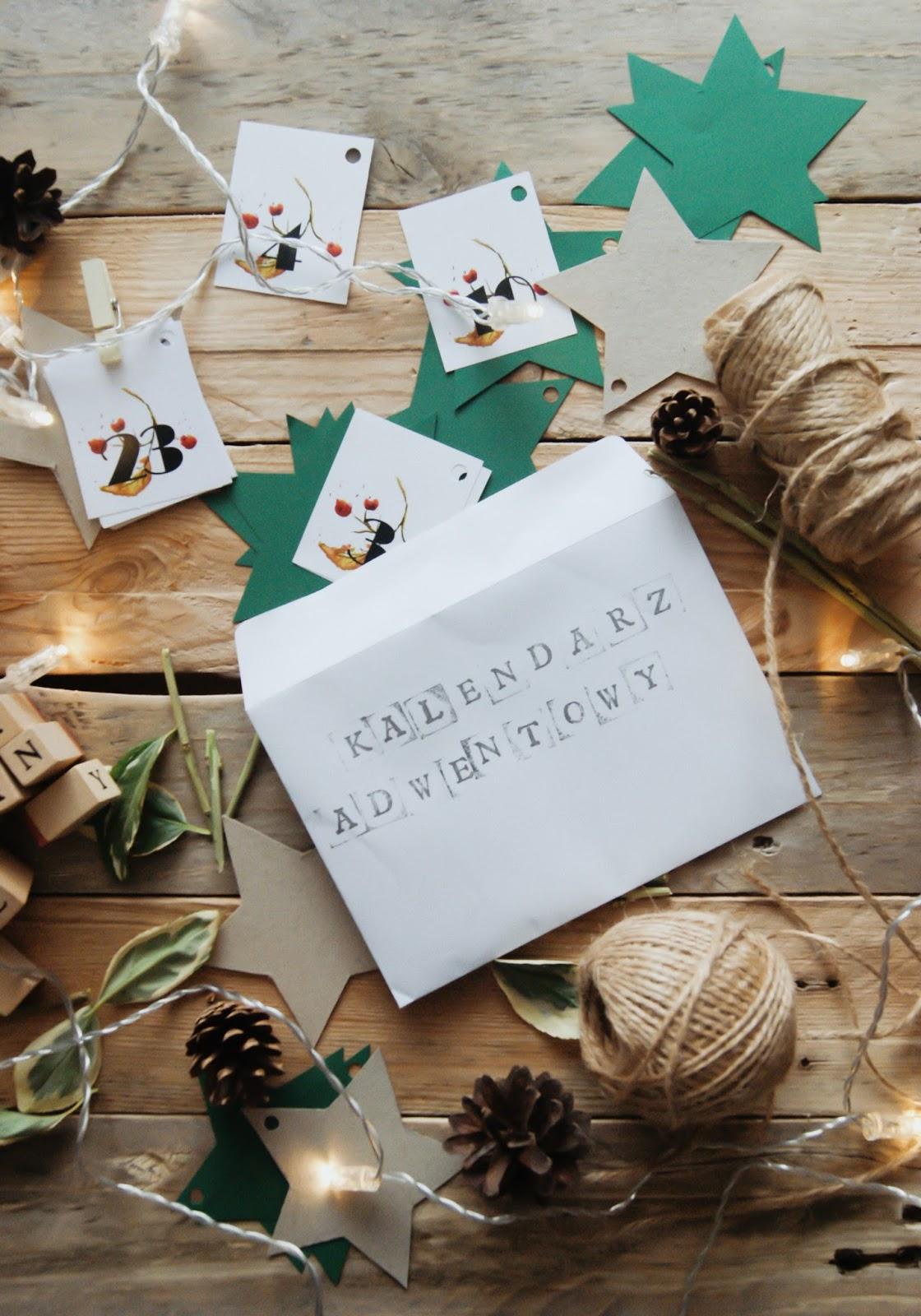 jak zrobić kalendarz adwentowy, advent calendar, advent calendar DIY