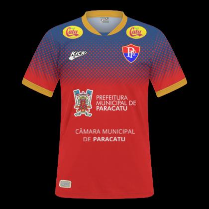 GT Camisas  Camisas Paracatu 2018 - Home e Away 59b48a482f333