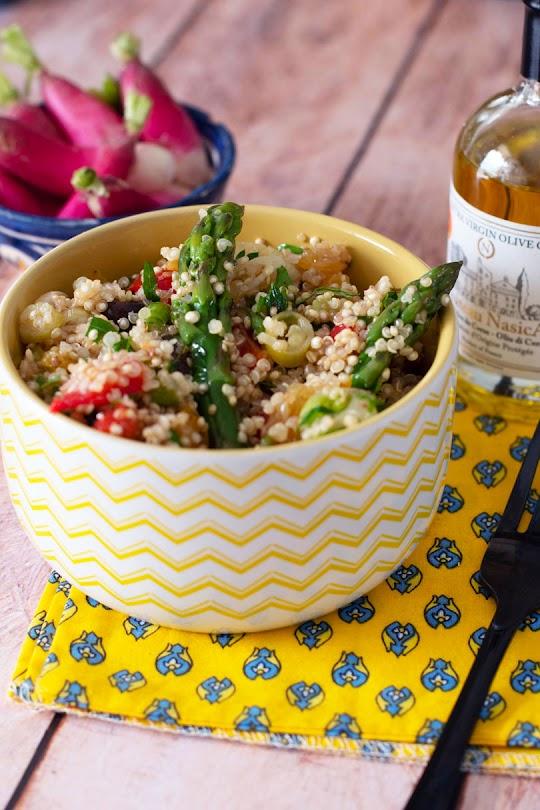 recette Taboulé de quinoa et asperges