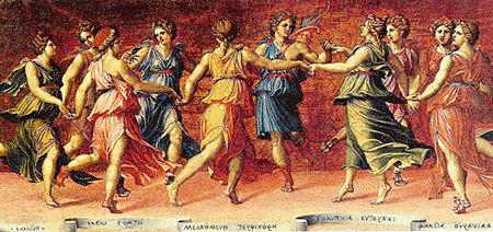 Zeus, il padre degli Dei e degli uomini. Muse_1