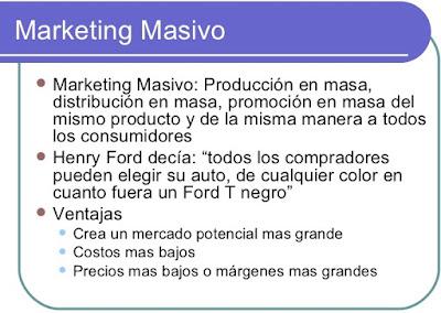 Qué Es El Marketing Masivo?