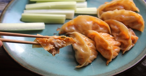 Buffalo Chicken Dumplings Recipe