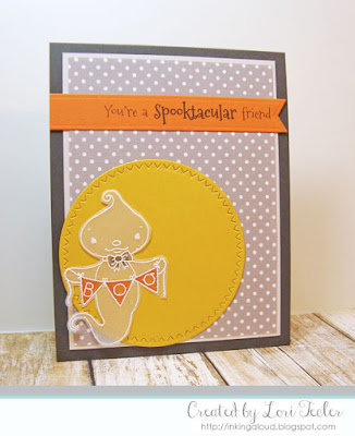 You're a Spooktacular Friend card-designed by Lori Tecler/Inking Aloud-stamps from SugarPea Designs
