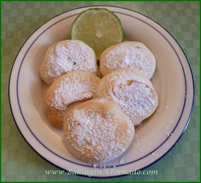 Key Lime Meringues | www.BakingInATornado.com | #recipe #cookies