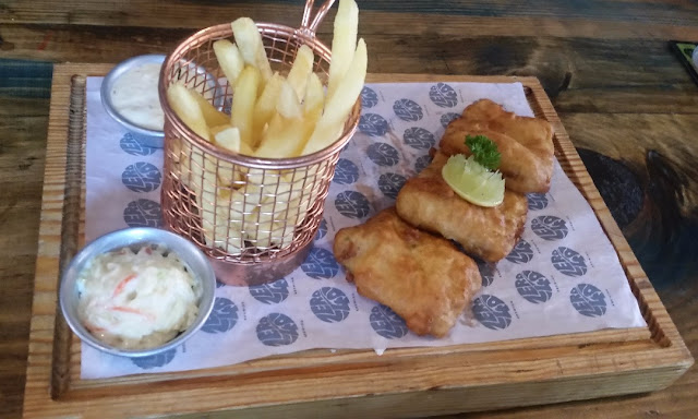 Beer Batter Fish with Chips