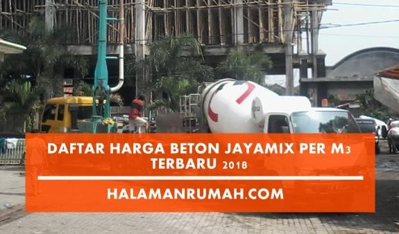 Harga Beton Jayamix 2018