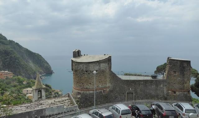 il castello di Riomaggiore