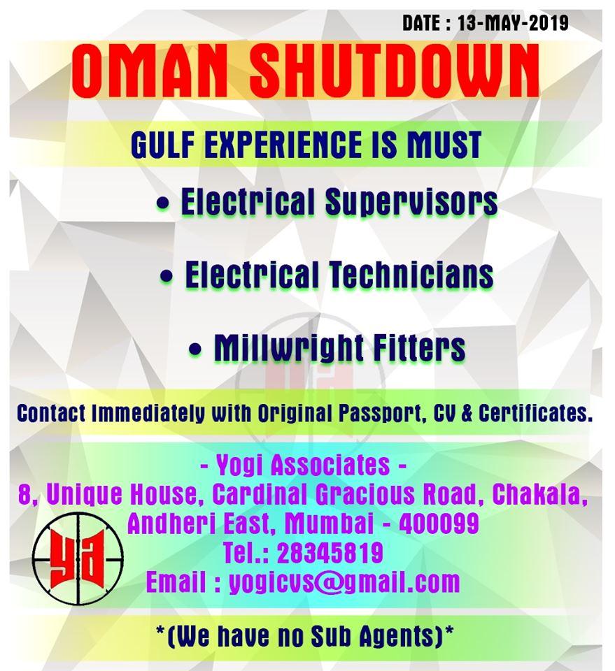 Oman Shutdown Project