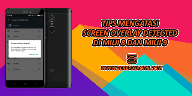 Mengatasi Screen Overlay Detected di Xiaomi