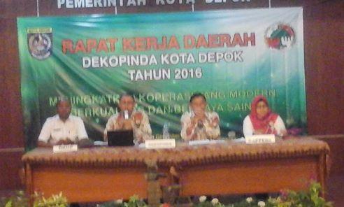 Dekopinda Data Ulang Ratusan Koperasi di 11 Kecamatan