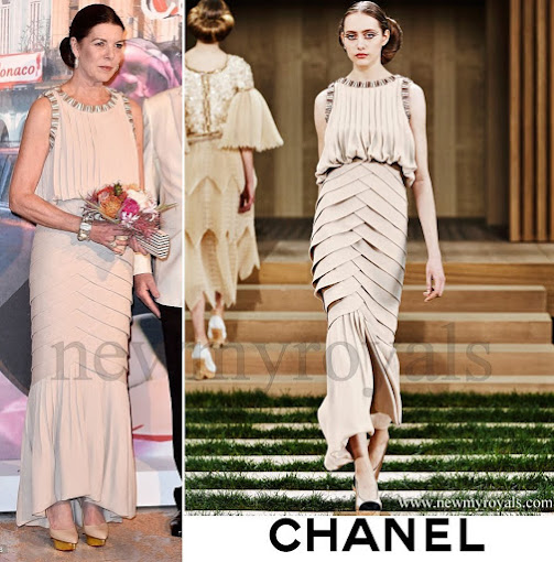 Princess Caroline of Hanover  wore Chanel Spring 2016 Haute Couture