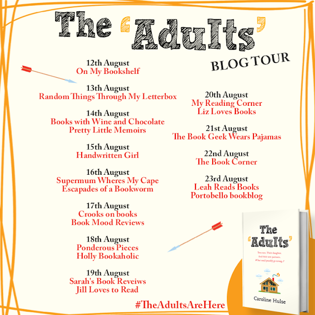Blog Tour: The Adults by Caroline Hulse